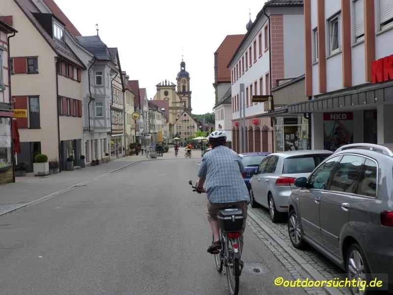 Hier geht es durch Neckarsulm
