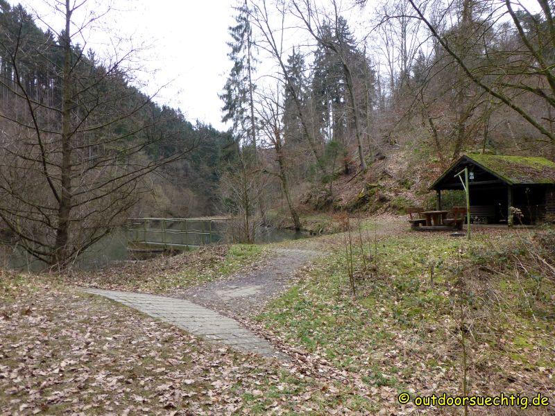 Die Seehütte bietet einen idyllischen Rastplatz
