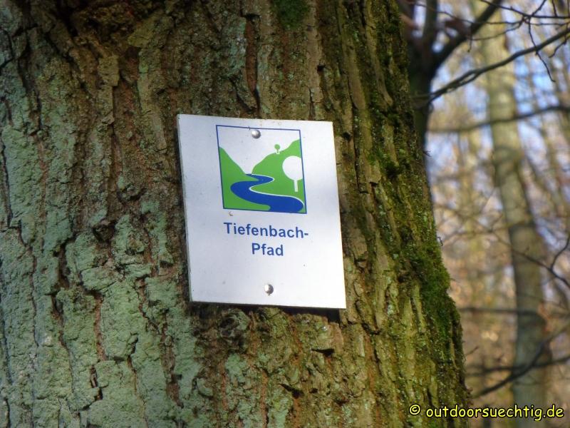Der Tiefenbach-Pfad (80 Punkte vom deutschen Wanderinstitut)