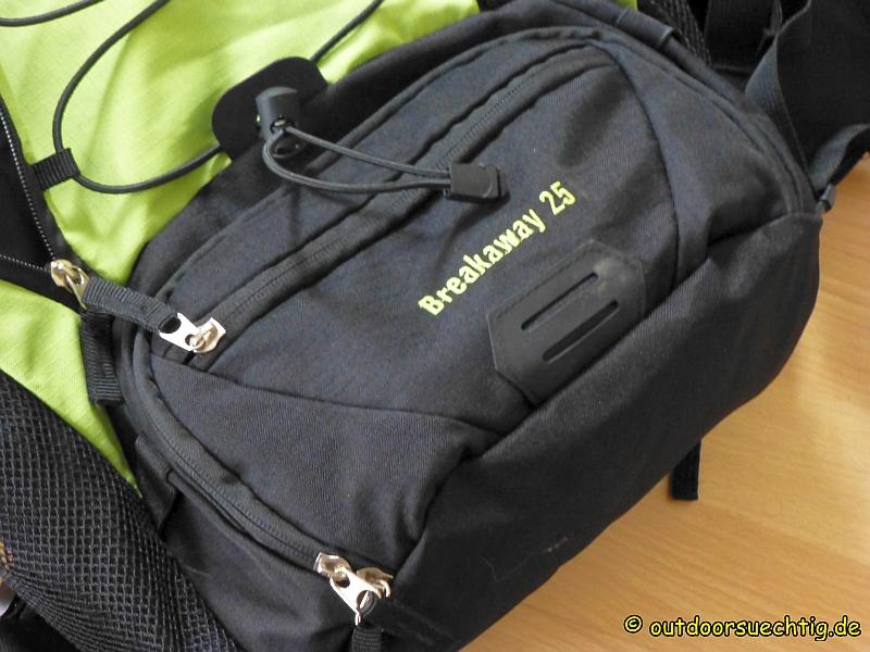 Die aufgesetzten Taschen sind sehr praktisch.