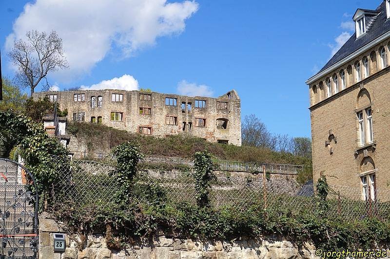 Die Burgruine Landskron