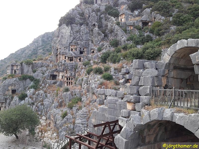 Monumental - die Felsengräber von Myra