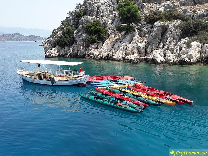 Unsere See-Kayaks