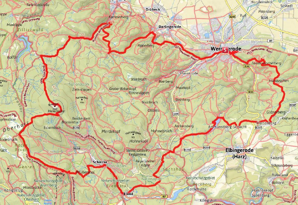 Die Strecke (Quelle 24h-trophy.de)