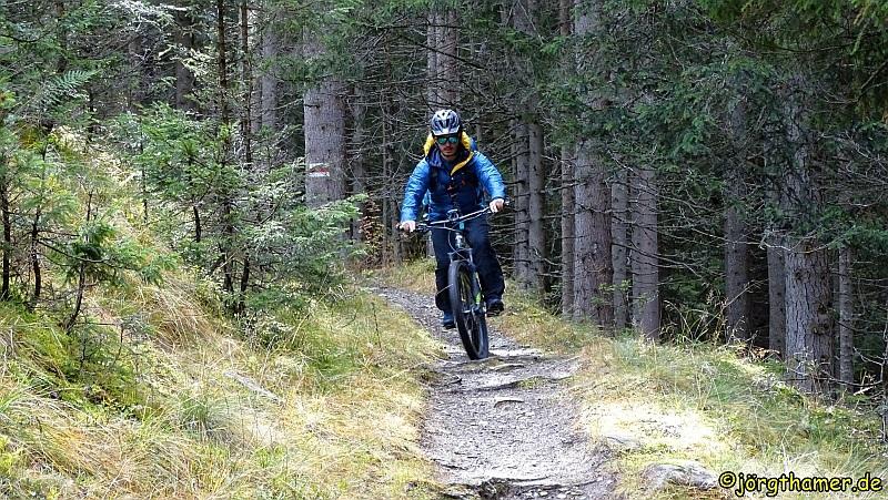 Biketour mit der Bike Academy Davos - zum Davoser See
