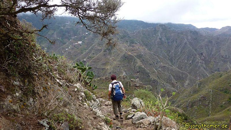 Wandern auf Teneriffa - Wege im Anaga-Gebirge