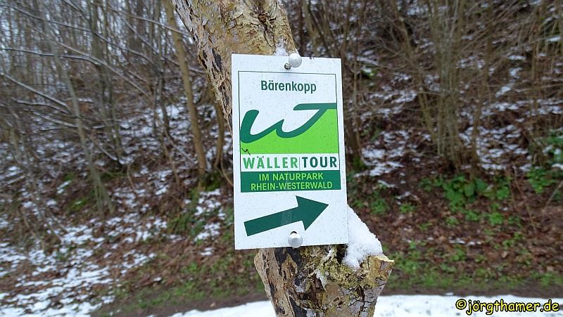 Wandern im Wiedtal - Wäller Tour Bärenkopp